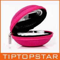 Shockproof cute Apple cable package for samsung millet general headsets earphone storage bag