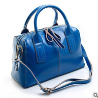Genuine leather shoulder bags for women 100% real cow leather ladies fashion classic summer candy color handbags bag ,retail