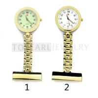Free Shipping! 3pcs Quartz Pin Brooch Nurse Pocket Watch LPW625