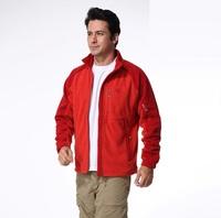 New 2014 outdoor fashion male models fleece jacket liner set of head clothing soft shell sports casual warm fleece jackets