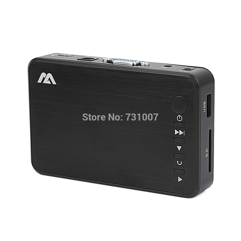 Freeshipping New good Full HD 1080P USB External HDD Media Player with HDMI VGA SD Support FLV MKV H.264 RMVB WMV VOB(China (Mainland))