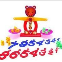 Toys Hobbies Models Building Puzzle Toy Model Building Kits Balance bear Mathematical method [230419]