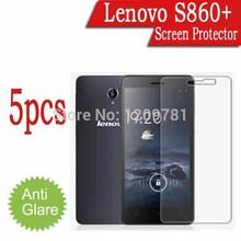 5pcs Android Phone Screen Protector For Lenovo S860+,Matte Anti-Glare Lenovo S860+ LCD Protective Film Cover Guard Case
