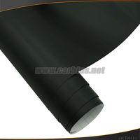 1.52*30cm Black matte car vinyl sticker color change adhesive wrap with air bubble free