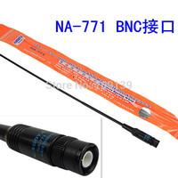 BNC UHF+VHF Handheld Antenna for TK100 TK200 IC-V8 IC-V80 IC-V82 IC-U82 ICOM New NAGOYA NA-771