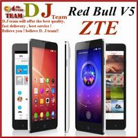 "Original ZTE V5 Nubia Red Bull Mobile Phone MSM8926 Quad Core Android 4.2 5"" HD 1280x720 4GB ROM 13MP OTG GPS"