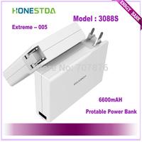 HONESTDA Extreme 3088S 6600mah Protable  Fashion Power Bank Free Shipping