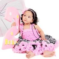 2014 new fashion.girls damask pettiskirt,flower print,halloween top popuplar,pink trim,childrens floral tutu skirt