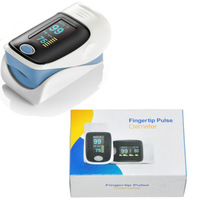 New Fingertip Oximeter Colors OLED - Spo2 PR Monitor Finger pulsoximeter For Free Shipping #L0192424