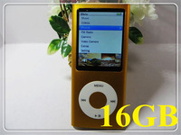 5th MP4 player 16GB 2.2 LCD mp4 Camera video wheel scroll shake Mp4 Music player Mp3 player + earphone + usb cable + box, 1pc