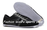 2014 New Brand Casual Sneakers Genuine Leather Shoes, men's leather flats,Leisure shoes,Men's footwear,free shipping by DHL !