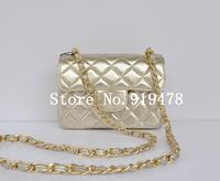 W17 cm With brand LOGO famous brands designer Genuine leather sheepskin handbag Women's Flap Bag Quilted 1115 mini chain Bag