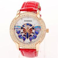 Reloj Watch Woman 2013 New Brands Rhinestone Bracelet Dress Watches Numbers Famous Free Shipping
