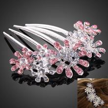 popular rhinestone hair jewelry