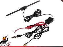 Car Digital TV DVBT ISDB Radio FM Antenna Amplifier SMA Connector 4 Car Dash DVD(China (Mainland))