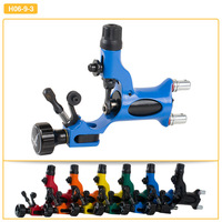 Pro Blue Rotary Dragonfly Tattoo Machine Gun High Quality 6 Colors To Choose Tattoo Machine Kits For Artist Free Shipping