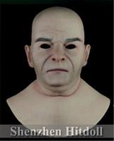 [ SF-N11] silicone mask full face party mask masquerade masks human cosplay mask free shipping