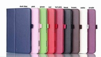 500pcs/lot Lychee wallet leather case With stand For samsung galaxy Tab 4 8.0 T330, case for samsung galaxy tab 4 8.0 T330 hot
