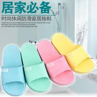 Plastic  indoor slippers derlook slip-resistant pvc summer lovers floor slippers