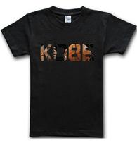 2015 summer famous sport new brand kobe lettet print T Shirt cotton sport basketball t-shirt man top tee casual man plus size