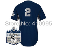 Youth 2 Derek Jeter  Cool Base BP Jersey w/New York Legend Final Season 1995-2014 Patch