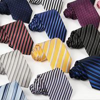New 2014 fashion 8cm Polyester color Stripes dress  tie for man  neck ties suit  men Necktie casual dress accessoriees