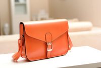2014 New Preppy Style 11 Color Women Envelope Bag Lady PU Leather Shoulder Bags Messager Bags