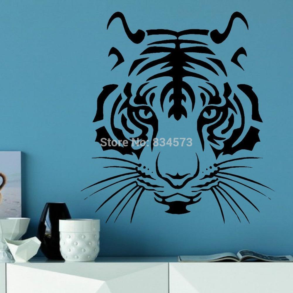 Online Kaufen Großhandel tiger head wall aus China tiger ...