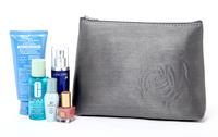 Women Makeup Handbag Crazy promotion 2014 New lady's  flower cosmetic bag/storage bag clutch Pouch Luxury capacity makeup bag