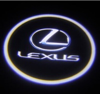 Car Led Door Light for Lexus ES350/250/GS modified car door LED beacon light laser lamp welcome