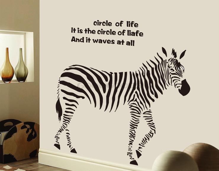 zebra wallpaper promotion online shopping for promotional