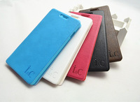 Free Shipping (20pcs/lot) Top Quality Simulation leather case for Huawei C8816 Phone case