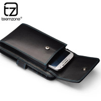 2014 New Fashion Multifunctional 200% Genuine Leather Organizer Wallet For Men Small Day Clutch Bag Mobile Phone Bag