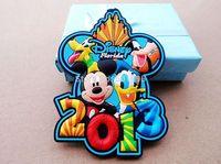 free shipping 3d fridge magnet household gifts of NO.YM473 magnet customized for 3d logo of souvenir pvc fridge magnet