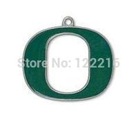 NCAA  free shipping 30pcs a lot rhodium plated enimal single-sided University of Oregon Ducks Pac-12 sports Charm