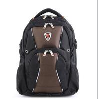 New 2014 fashion brand high imitation SwissArmy man fashion laptop backpack  high school students shoulder bag