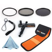 Free Shipping Brand New K&F 72MM UV+CPL+ND8 Filter Kit for EF 50mm f/1.2L USM