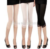 Hot Sale Fashion Summer Dress 2014 Women Leggings Female Lace Leggings Free Shipping