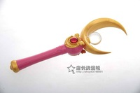 New Sailor Moon COSPLAY Accessories props Starmoon cane tsukino COS Anime peripheral  Free Shipping