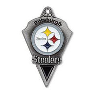 NFL  free ship 30pcs a lot antique silver plated enimal single-sided Pittsburgh Steelers team logo AFC football sports charms