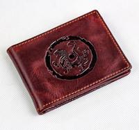 Hot Sale Fashion JMD 100% Genuine Leather Real leather  Credit Card Holder wallet  Drive license bag holder 7169R-25