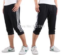 2014 Men's sport pants outdoors casual short plus size training trousers looses pants L-XXXXL FREE SHIPPING
