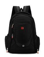 Swiss business 15.6 inch laptop bags; waterproof outdoor sport zipper brand backpack , men notebook computer mochila