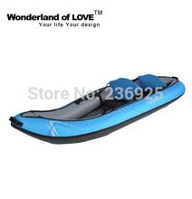 Flatwater Water Sport Double More Inflatable Kayak Canoe Fishing Drift  Canoeing AQ22(China (Mainland))