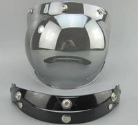 Free Shipping Motorcycle Helmet Vintage helmet glass Helmet Bubble Visor Jet helmet visor