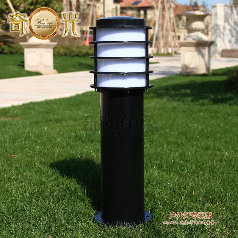 Free shipping outdoor garden lights garden lights retro lawn landscape lawn waterproof outdoor street light fixtures column(China (Mainland))