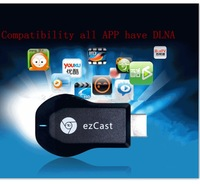 New arrival ezCast Miracast Dongle TV stick DLNA Miracast Airplay MirrorOP better than chromecast support windows ios andriod