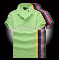 Big Horse ! 2014 Fashion brand Logo Men Shirts For Mens Casual T Shirts Men's brand T-Shirt Tshirt Polos Tops & Tees