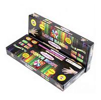 Wholesale DIY Fashion Rubber Band BRACELET loom kits (600pcs loom bands+24pcs clips+6pcs charms+1pcs hook+1pcs frame)