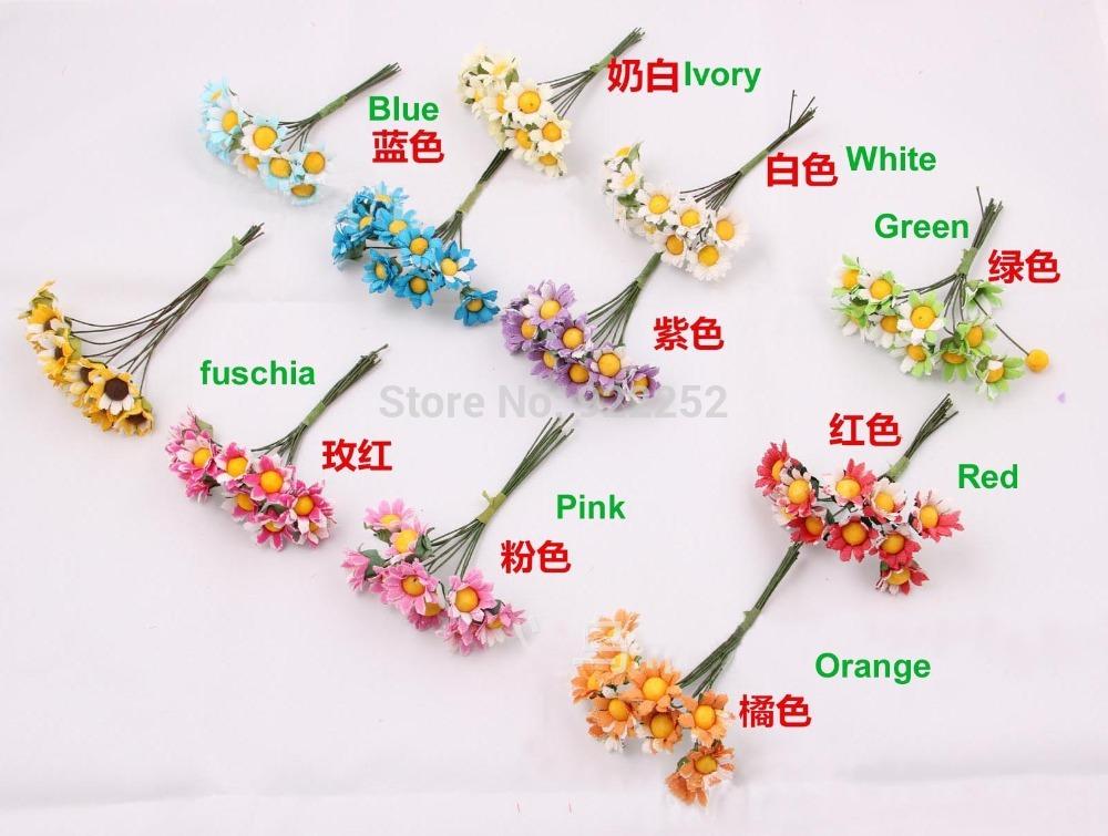 1.5CM artificial cheap silk daisy,mini chrysanthemum flower bouquet,diy craft arrangements for wedding party decoration&garland(China (Mainland))